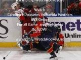Carolina Hurricanes vs Florida Panthers Highlights 5th-Oct