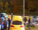 sortie de circuit de la 3000 GT à Folembray