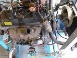 Démarrage moteur 843 au banc d'essai