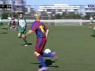 Γιώργος Σπανουδάκης - το νέο δεκάρι της Barcelona!