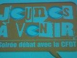 «Jeunes à venir» Soirée-débat avec la CFDT