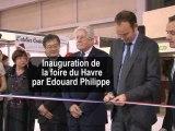 Edouard Philippe inaugure la Foire du Havre