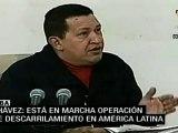 Chávez asegura que está en marcha operación imperialista contra América Latina