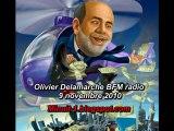 Olivier Delamarche BFM radio du 9 novembre 2010 - 09/11/2010