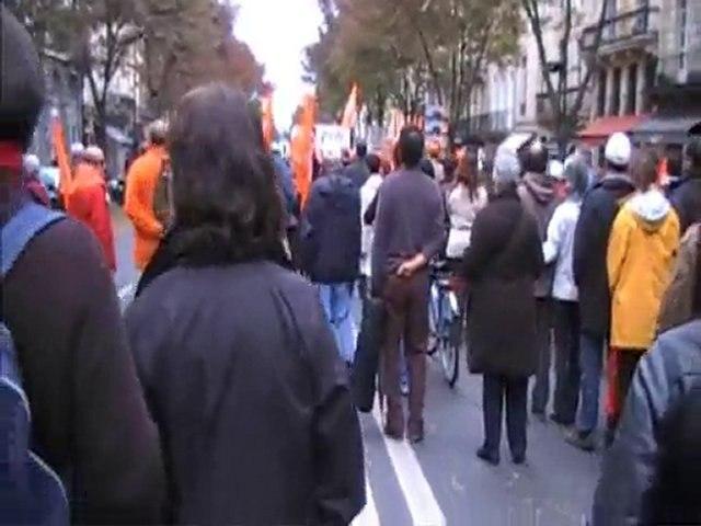 Manifestation du 6 novembre 2010 à Bordeaux
