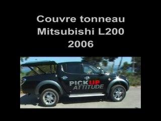 MITSUBISHI L200 2 - Accessoires Couvre Tonneau & Hard Top