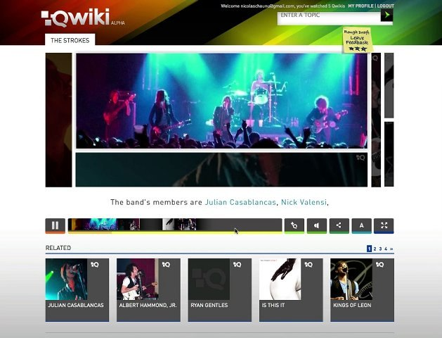 qwiki - découverte du service