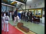 Remise Médailles Championnat Bretagne Taekwondo sankofa tkd