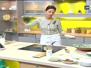 Recettes fekkas amandes raisin et petits fours semoule