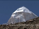 Shivling above the Tapovan shelf, from Gaumukh