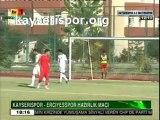 Kayserispor.org: Gökhan Ünal 1-0