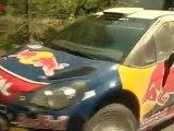 Sebastien Loeb testing Citroen DS3 - WRC Rally Finland 2011