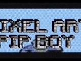 MINECRAFT PIXEL ART PIP BOY FALLOUT DE MG-PROD