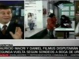 Argentina: Macri se reafirma, Filmus hace histórica elecci