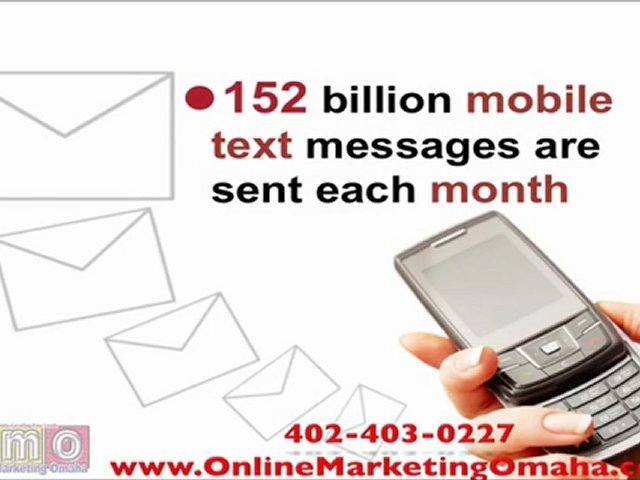 Mobile Marketing with Online Marketing Omaha