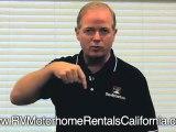 Southern California RV Rentals - RV Motorhome Rentals