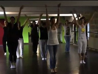 La chorégraphie du Flash Mob version miroir