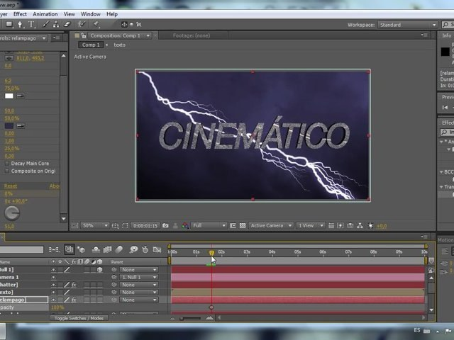 Titulos Cinematicos - Tutorial After Effects