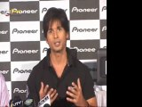 Shahid Kapoor At Pioneer Car Stereo Systems Press Conference