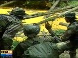 14  juillet : défilé d'un régiment de Guyane