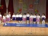 neşeli yüzler oyun evi yıl sonu jimnastik gösterisi