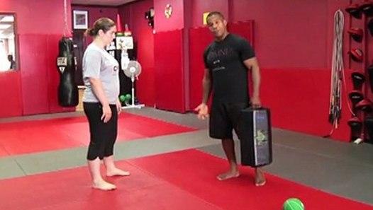 Self-Defense Workout: Groin Kick