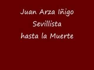 Juan Arza - Vídeos de Los jugadores del Sevilla