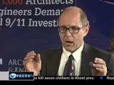 911 evidence for the controlled demolition of building 7 (wtc7) -Richard Gage -PressTV (pt 1)