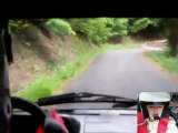Caméra embarqué Rallye Plaine et Cîmes 2011 Es 1 Ville de Soultz