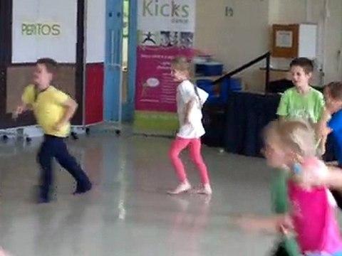 20110714 Sam's Kick's Dance display