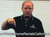 Cheap RV Rentals California - Diesel RV Rentals - Toy Hauler Rental - Corona RV Rentals - Class A Motorhome Rentals