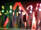PRESENTATION FIN DE SPECTACLE (3 LES GARCONS 1) LE 25 JUIN 2011