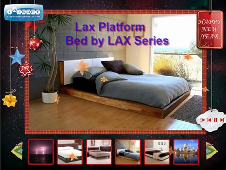 Lax Series Platform Bed modern beds,buy modern platform beds from online modern furniture stores