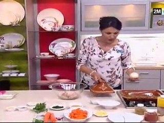Recette Tajine de Boulettes de poulet et Gratin aux Boulettes de viande
