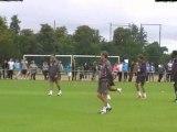 Entrainement du 16 juillet 2011 par Girondins Analyse