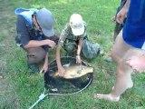 Séjour pêche jeunes carpe 72 cm/ 9,18 kg