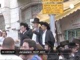 Affrontements entre policiers israéliens... - no comment