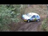 Rallye des Routes du Nord 2009, ES2. Godewaersvelde.sortie..