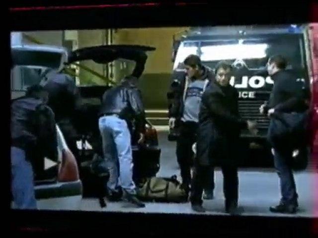 Scénes de police au cinema television. Frédéric Trin