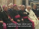 Benedict al XVI-lea: Biserica în dialog cu cultura
