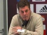 Dieter Hecking vor dem Bayern Spiel