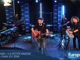 Raphaël en concert privé à Europe 1
