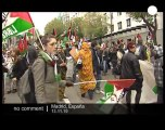Pro Western Sahara demo in Madrid - no comment