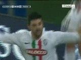 Juventus 1 - 1 Roma (13/11/2010): le but de Iaquinta