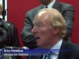 Incendie à Dijon: Brice Hortefeux s'est rendu sur place