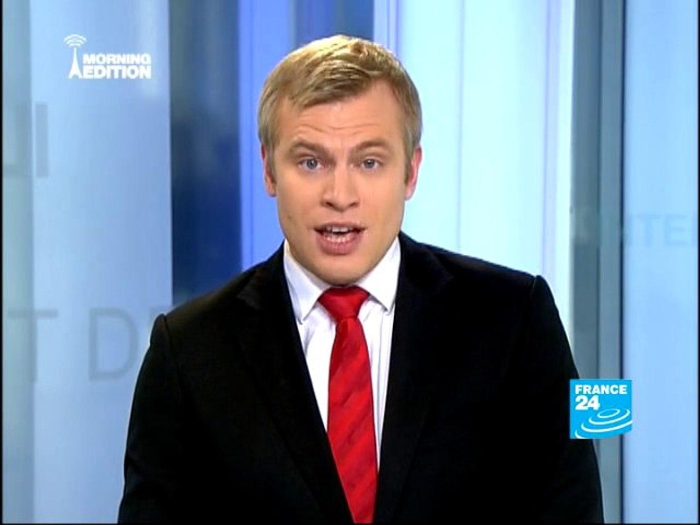 08:45AM FRANCE 24's international news flash