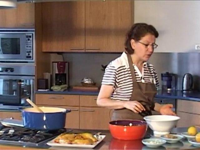 la cuisine d'Anne Marie : Tajine Poulet Olive Citron