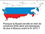 Russie / abris anti-atomiques / Moscou / 2012