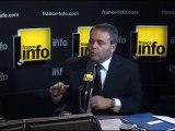 Xavier Bertrand, france-info, 17112010