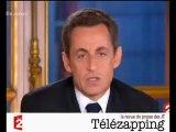 Télézapping  : Les Français jugent la prestation de Sarkozy